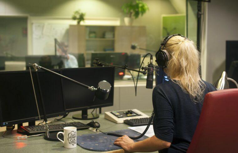 Radiostation sendet über das Internet